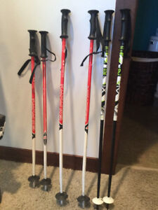 Selection of poles