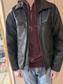 River Island Vintage Leather Jacket