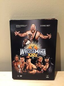 WWE WRESTLEMANIA 24 DVD