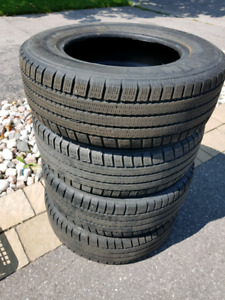 Michelin Artic Alpin snow tires 185/70R/14