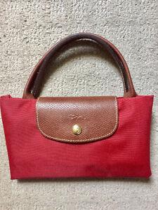Large Longchamp Purse (Red)
