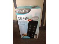 Homedics Full Body Massage Mat with HEAT RRP £57