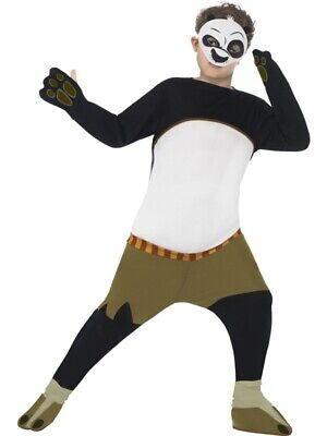 Kung Fu Panda Kostüm Größe L Kinder Karneval Bär Gebraucht - Kung Fu Kinder Kostüm