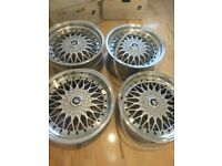 BBS multi fit RS style alloy wheels