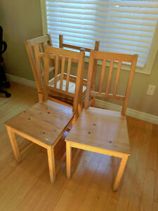 4 Ikea dining / kitchen chairs