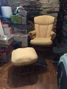 Dutalier Glider Rocker & Foot Rest