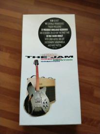 THE JAM - 5 cd box set plus book
