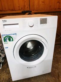 Beko 8kg 1200 spin washing machine still new condition £85