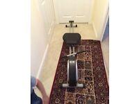 Home cardio rowing machine