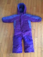 Columbia Toddler Snow Suit with Reversible Jacket