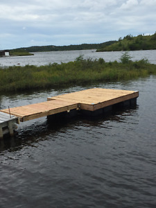 Floating Dock 8X10 ft with ramp