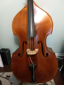 Fully carved Double Bass for sale