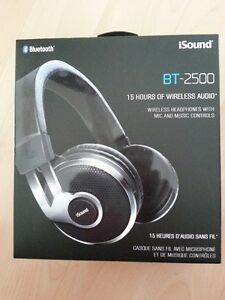 iSound BT-2500 Wireless Headphones with Mic and Music Controls