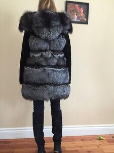 Fur jacket-vest new