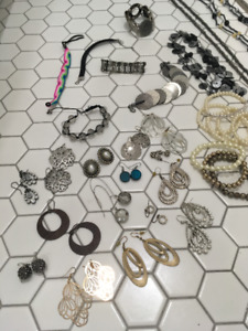 Lot of Jewelry for Sale (50+ pieces)