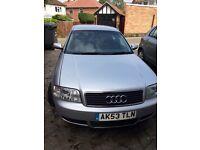 Audi A6 1.9tdi se saloon 130bhp 2003 mot full year for sale or swop