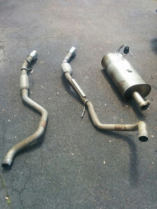 2016 Ram 1500 Pickup Truck Muffler and Tail Pipes