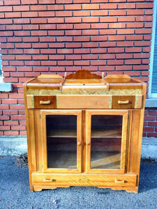 Buffet / Vaisselier Art Deco / Antique