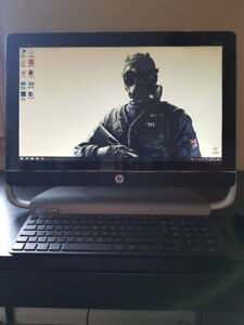 HP All-In-One 23 Inch Touch Screen