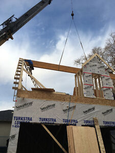 Framers and framing crew needed