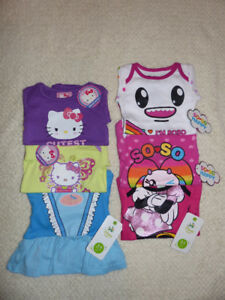 Baby Girls Onesies Clothes Lot of 6 *BRAND NEW* Size 0-3 Months