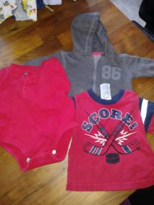 Lot de Vêtements - Garçon. (6 mois)
