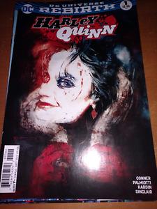 DC Rebirth Harley Quinn #1-7 comic book lot