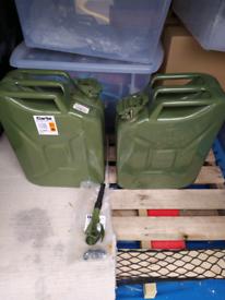 Fuel Jerry cans 20L