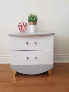 Refinished Wooden Night stand