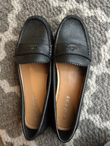 Coach slip on shoes SIZE 8 NEVER WOR