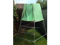 TP metal climbing frame and den