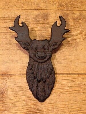Cast Iron Rustic Brown Deer Boot Jack 10 3/4