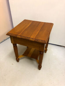 Small Teak End Table
