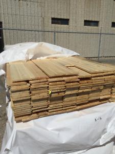 1x6x16 Pine T&G BUNDLES - LUMBER CLEAROUT