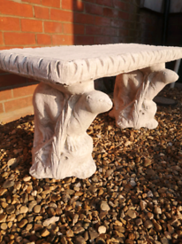 Stunning concrete otter bench for the garden