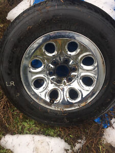CHEVROLET 1500 tires and rims