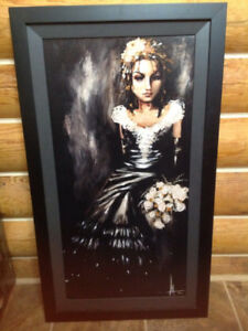 Angelina Wrona limited edition print in frame.