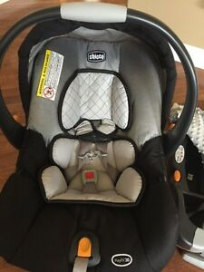 Chicco key fit 30 car seat, base and cover