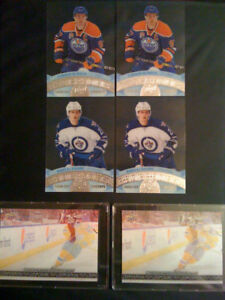 Hockey Cards from 2017! Mcdavid Triple Exposure's and clear cuts
