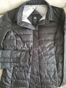 CANADA GOOSE SHIRT STYLE BLACK LABEL DOWN JACKET Sm - NWOT