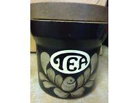 Bake well Denby Coffee & Tea jars