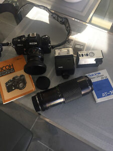 RICOH FILM Camera/ Lenses