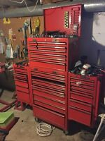 Mac 2000 series Tool Box with two side cabinets