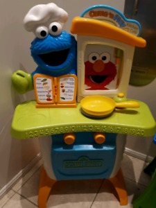 Sesame Street Come and Play Kitchen Cafe