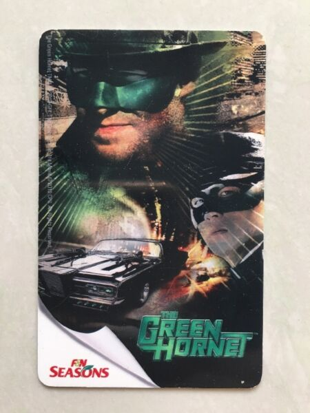 The Green Hornet EZ-link card