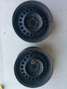 Tire Rims Good Condition Cambridge Kitchener Area image 1
