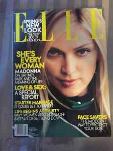 Elle February 2001 Magazine