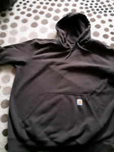 Carhartt Hoodie read ad before asking questions.