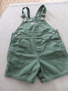 Gap green overall size 6-12M