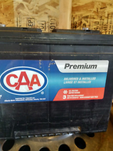 Year old brand new battery. CAA 24f 790CCA